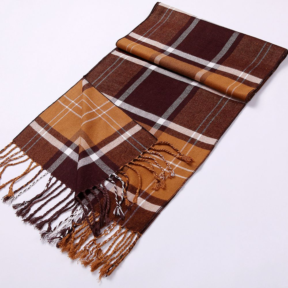 Manufacturer Knitted Viscose Oblong Scarf Made In China